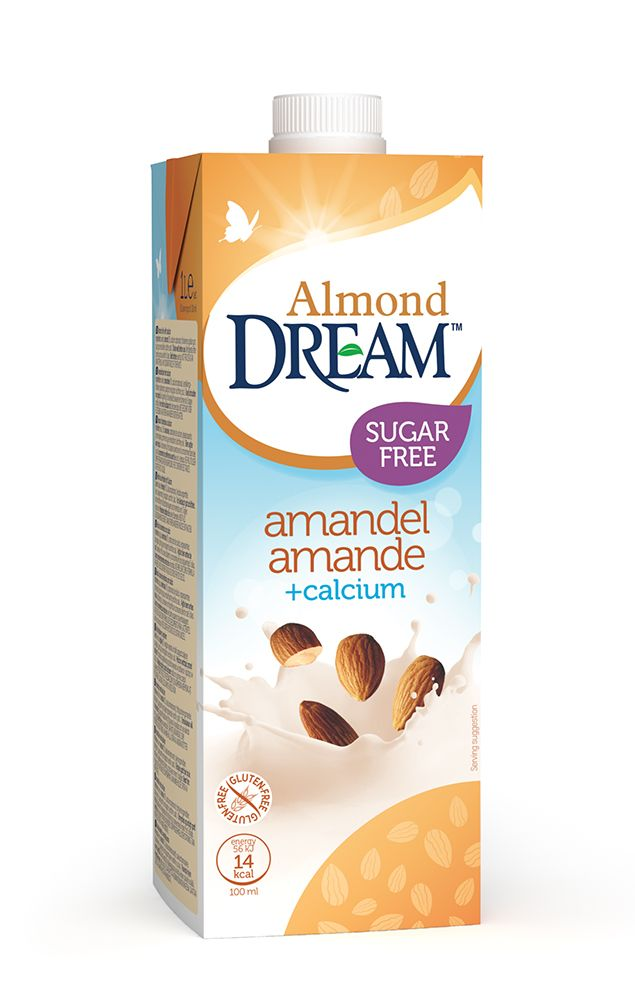 32608000 Dream Almond unsweetened Calcium 1L EU Design RGB packshot