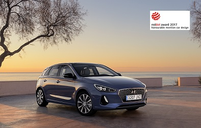 Hyundai i30 RedDot Honourable Mention